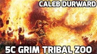 Channel CalebD - Modern Grim Tribal Zoo (Deck Tech)
