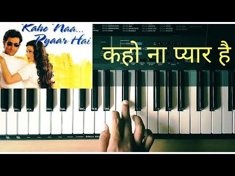 Kaho Na Pyaar Hai Piano Cover | Hritik Roshan | Amisha Patel | Udit Narayan