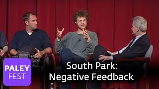 South Park - Matt Stone on the Beginning & Negative Feedback (Paley Center, 2000)
