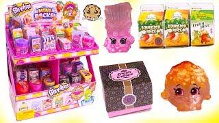 Mini Food Surprise ! Full Box Shopkins Season 10 Shopper Blind Bags