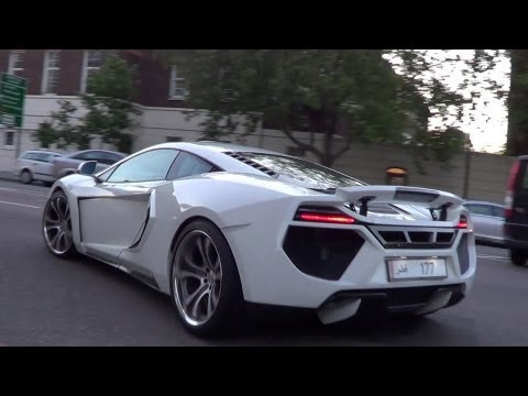 ARAB SUPERCAR HIGHLIGHTS IN LONDON - SUMMER 2012!!