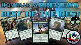 Dominaria Spoilers: Best of the Rest Set Review – Part 5: Green!