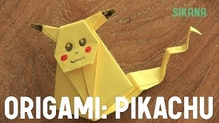 Origami : Comment Faire Un Pikachu En Papier ? - Hd
