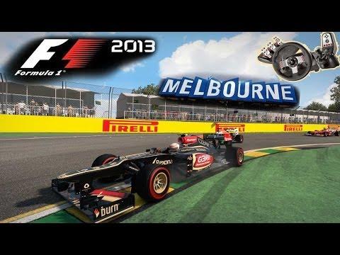 F1 2013 - Melbourne e Dicas de Setup! G27