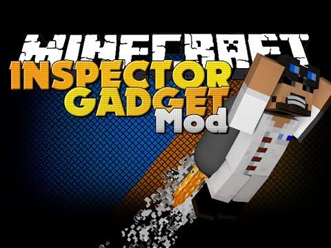 Minecraft Mod - Special Armor Mod - Inspector Gadget in Minecraft
