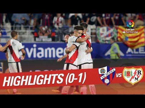 Resumen de SD Huesca vs Rayo Vallecano (0-1)