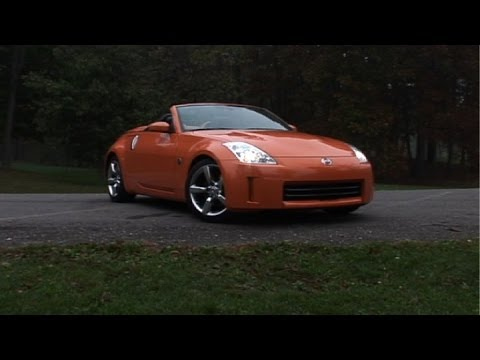 2003 2009 nissan 350z pre owned vehicle review youtube. Black Bedroom Furniture Sets. Home Design Ideas