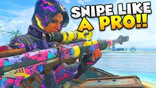 """How to """"NEVER MISS A SNIPE AGAIN!"""" - Black Ops 4 (Call of Duty Tips)"""