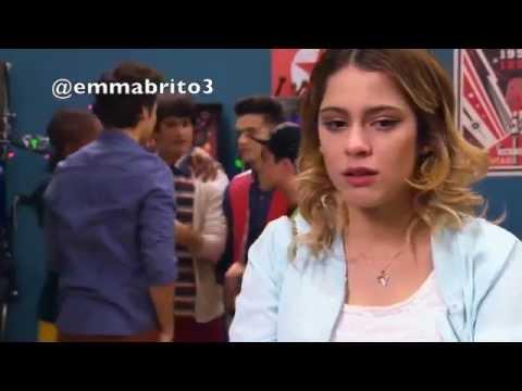 Violetta 3 - Violetta se va de la fiesta y Fran le reclama a León (03x57)