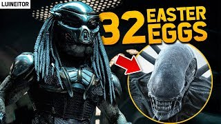 EL DEPREDADOR (2018) - 32 Secretos, Referencias, Cameos y Ester Eggs de la peli! (The Predator)