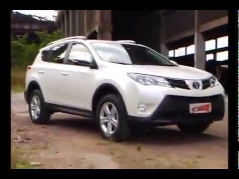 Vrum testa o Toyota RAV4 2014 [Vídeo modificado]
