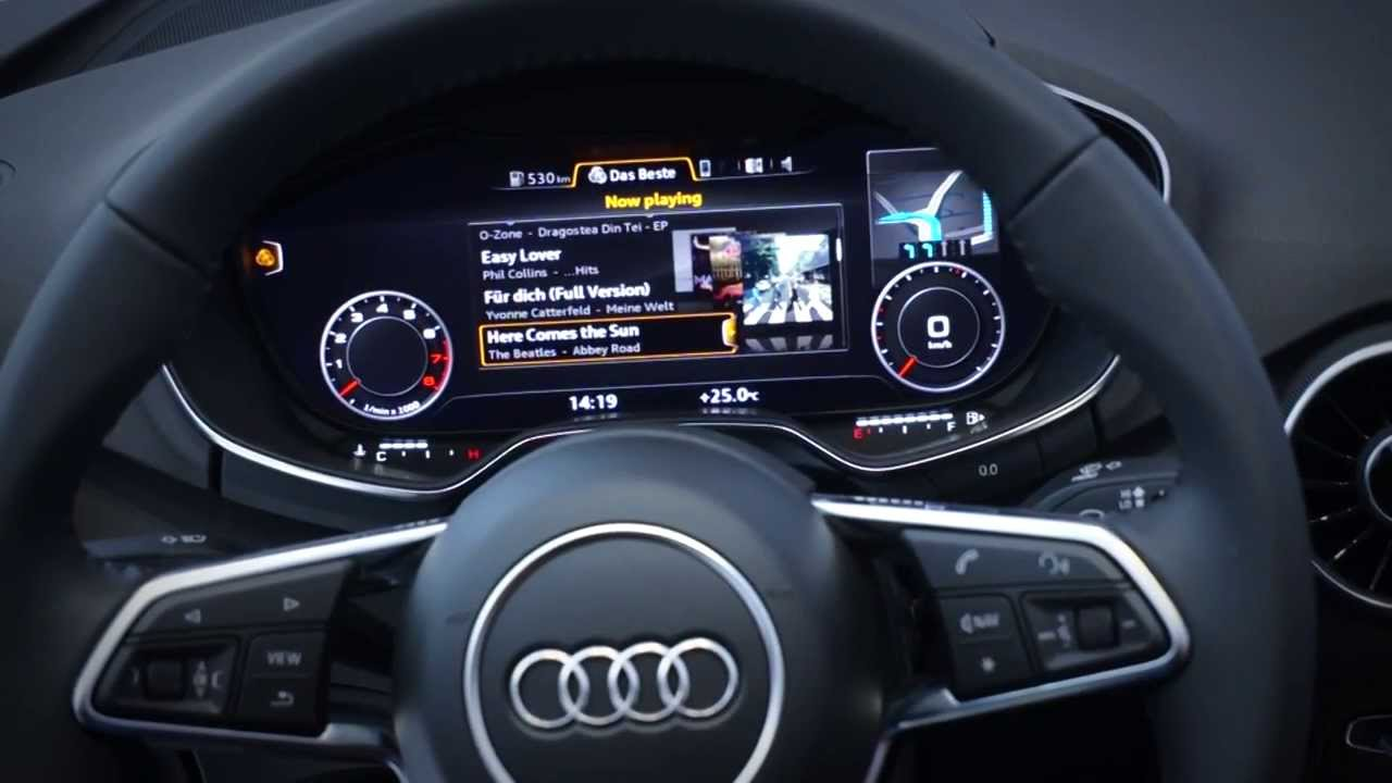QNX In Action Audi FPK Driver Information Display YouTube