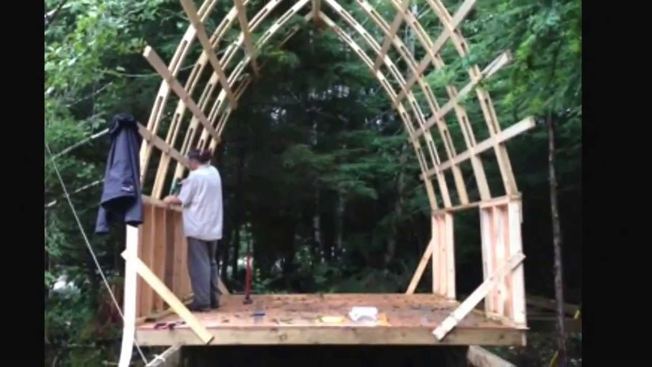 Bow Roof Cabin Cheap Strong And Light Weight Youtube