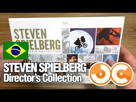 [blu-ray] Steven Spielberg: Director's Collection (bra) video