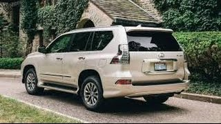 2017 Lexus GX 460 Price Luxury Package Review in Nightfall Mica SUV