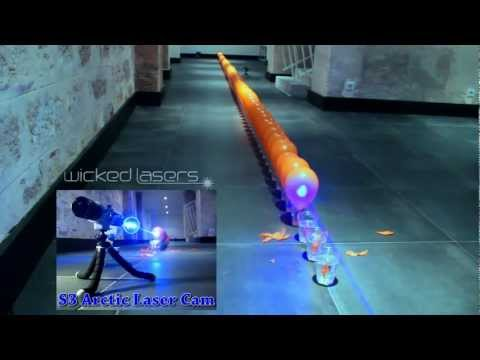 S3 Spyder III Arctic - Wicked Lasers - 100 Laser Balloon Popping Dominoes