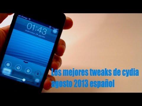 Los mejores tweaks de cydia IOS 6 de agosto 2013 iPhone. iPad/mini y iPod