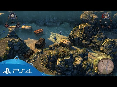 Shadow Tactics: Blades of the Shogun   Gameplay Trailer   PS4