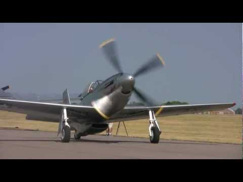 P51D START-UP and TAKEOFF
