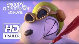 Snoopy and Charlie Brown: The Peanuts Movie | Official HD Teaser Trailer #2 | 2015