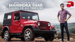 MAHINDRA THAR | Taking on all terrains |M&S TECH & TOYS | M&S VMAG