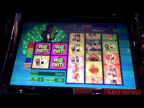 Dean Martin Wild Party Slot Machine Bonus Win at Sands Casino at Bethlehem