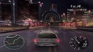 Need for Speed: Underground 2 Gameplay Walkthrough - Cadillac Escalade Circuit Test Drive