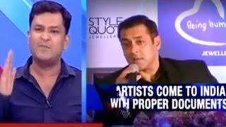 If Salman Khan Was Put In Jail He Would Talk Sensible Says Major Gaurav Arya