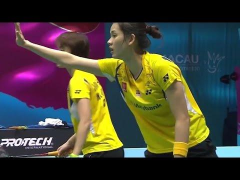|SF| Match 4 Macau Open Badminton Championships 2014