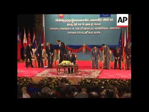 NKorea and Myanmar top summit of ASEAN and EU