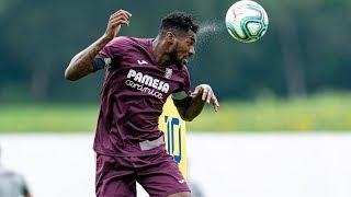 Primer entrenamiento de Zambo Anguissa con el Villarreal CF