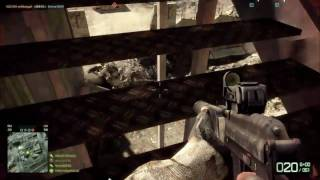 BFBC2 PC Gameplay - 9A-91 Avtomat SMG with Commentary Part 2/2 (HD)