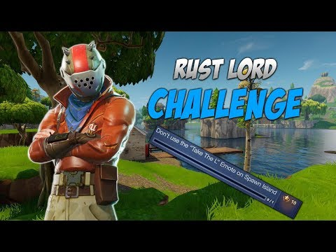 rust lord face fortnite