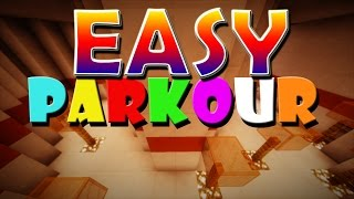 EASY PARKOUR (minecraft timed parkour)