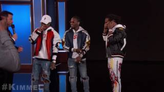 Behind The Scenes with Jimmy Kimmel and Migos