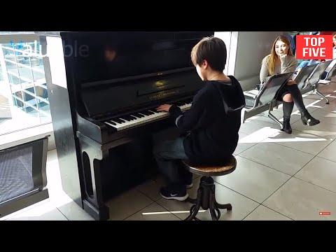 Download Top 5 Piano Airport Amazing and Beautiful Performances Mp4 baru