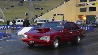 PRO VK 9 SEC V8 COMMODORE SYDNEY DRAGWAY 19.12.2014