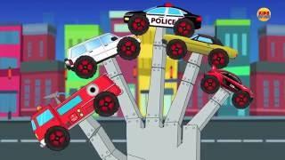 Monster Trucks Finger Family | Car Rhyme | Car Song for Kids & Toddlers