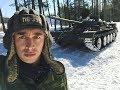 ТЕСТ ДРАЙВ НАСТОЯЩЕГО ТАНКА