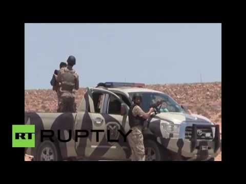 Libya: Libyan National Army advance against IS south of Misrata