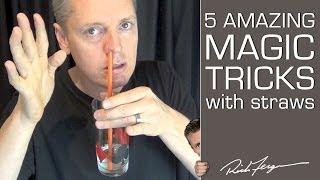 How to do 5 Amazing Magic Tricks with a Straw