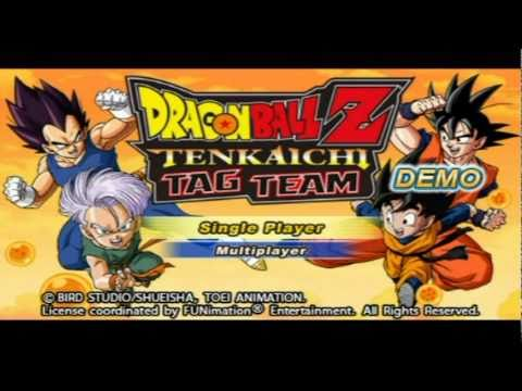 Dragon Ball z Tenkaichi Tag Team Ps2 Dragon Ball z Tenkaichi Tag