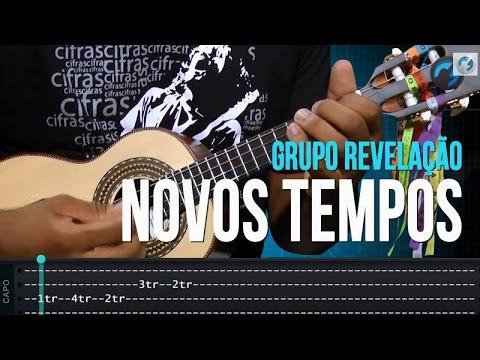 Grupo Revelação - Novos Tempos (como tocar - aula de cavaquinho)