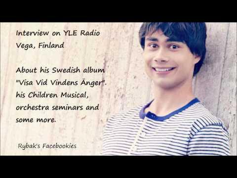 Alexander Rybak - Interview on YLE Radio Vega, Finland 17.02.2014