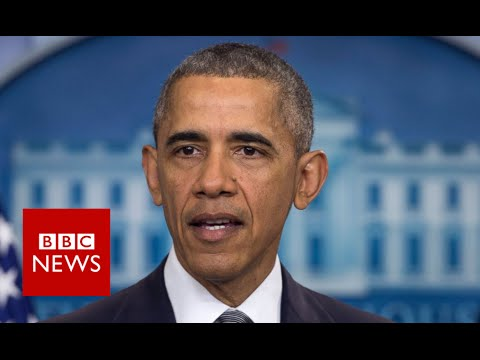 "Orlando Gay Club Shooting: 'This person was full of hate"" Barack Obama - BBC News"