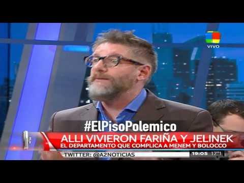 Menem y Bolocco, imputados por la presunta venta irregular de un departamento