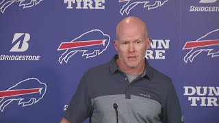 Bills coach Sean McDermott reacts to Vontae Davis' surprise retirement