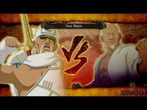 Naruto Ultimate Ninja Storm 3 Killer Bee Vs Raikage S-Rank HD (English)