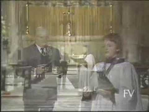 Silent Night A duet: Andrew Kennedy and Harry Secombe.