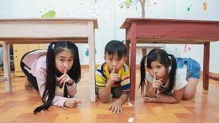 Kids go to School Learn | Chuns Creativity Toys In Class Brush Teeth Kids Style